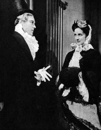 Marius Goring as Pip & Vera Lindsay as Estella in Great Expectations 1939-40