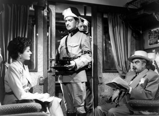 Margaret Lockwood & Marius Goring in Highly Dangerous 1950
