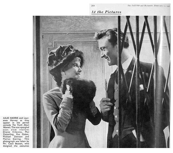 The Truth about Women article & photo in The Tatler 12 February 1958