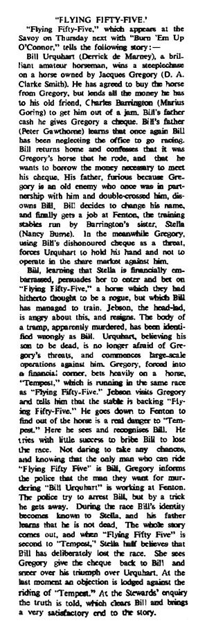 Flying Fifty-Five review in the Waterford Standard 2 September 1939