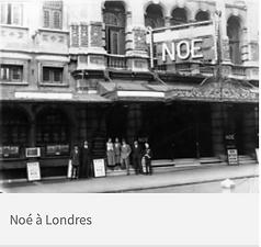 Noé (Noah) in London 1934
