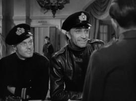 Marius Goring, Conrad Veidt and Bernard Miles in The Spy in Black 1939