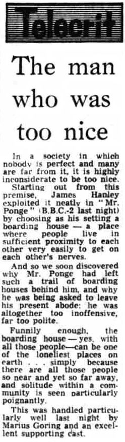 Mr Ponge review in the Liverpool Echo 10