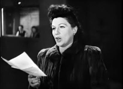 Lucie Mannheim in The True Story of Lili Marlene 1944