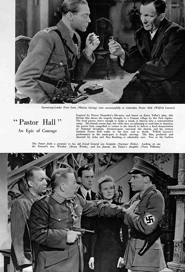 Pastor Hall article with photos in The Bystander 29 May 1940