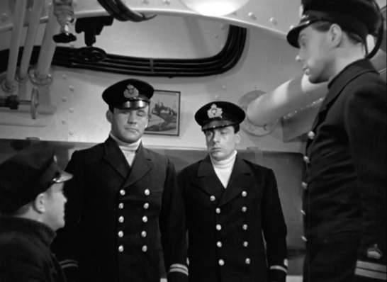 Conrad Veidt, Torin Thatcher, Cyril Chamberlain & Marius Goring in The Spy in Black 1939