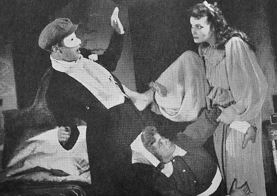 Marius Goring, Lucie Mannheim & Joyce Heron in Too True To Be Good 1948