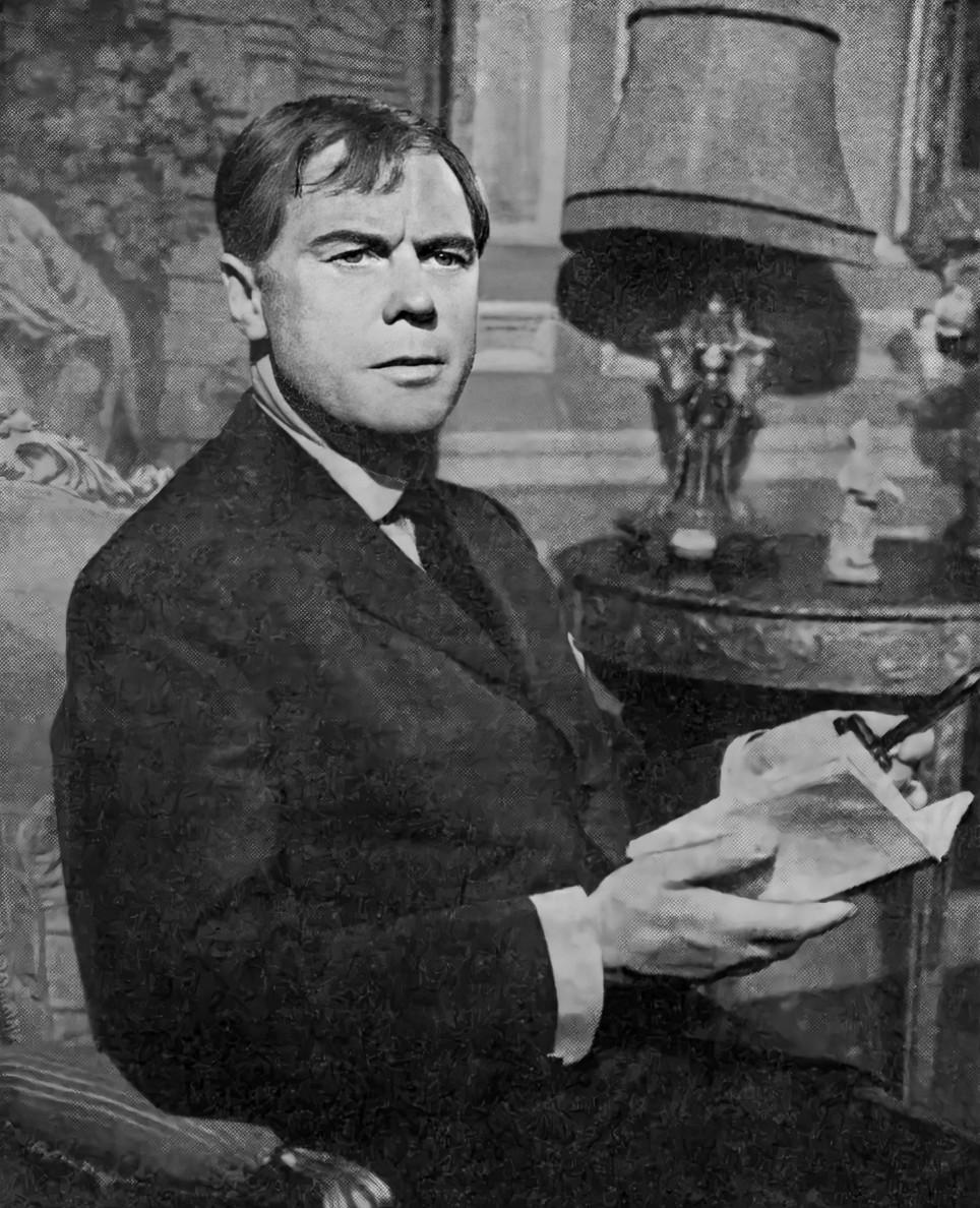 Marius Goring as Blaise Lebel