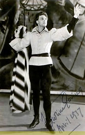 Marius Goring as The Chorus in Henry V April 1937