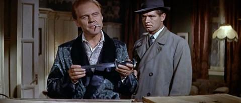 Marius Goring & Stephen Boyd in The Inspector 1962