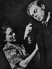 Lucie Mannheim & Marius Goring in The Last Straw October 1937