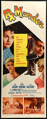 Rx Murder 1958 Poster