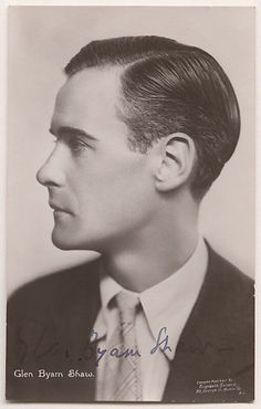 Glen Byam Shaw (1904-1986): Co-founder of the London Theatre Studion and later director of the Old Vic Theatre School and the Shakespeare Memorial Theatre