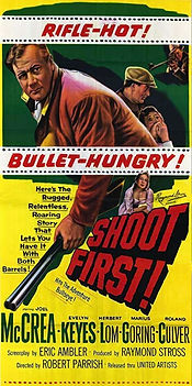 Rough Shoot (Shoot First!) 1953 poster