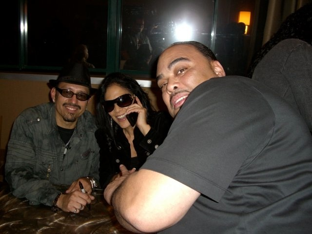 Derrick with Juan & Sheila E