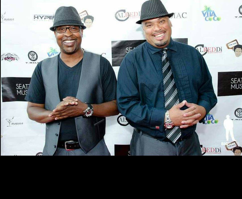 Todd and Derrick at SSMAs Red Carpet