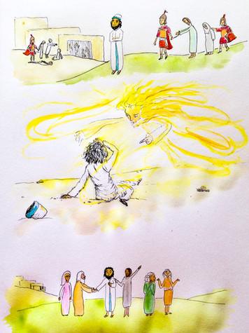 Saul conversion