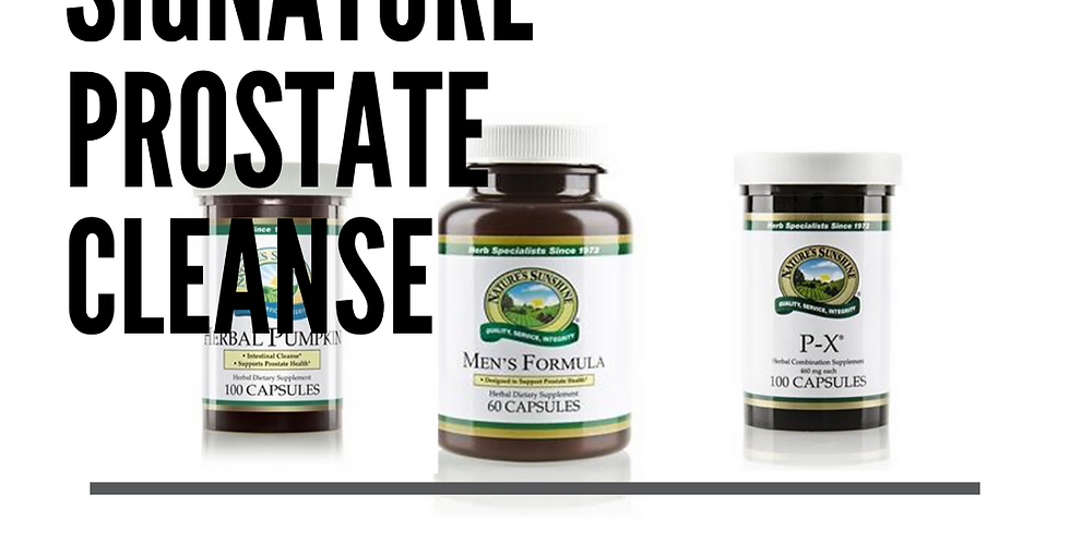 Signature Prostate Cleanse