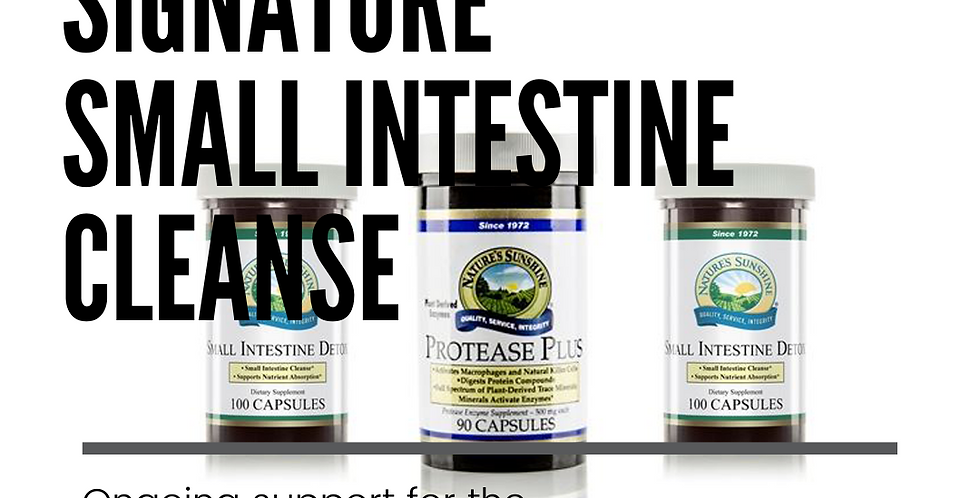 Signature Small Intestine Cleanse
