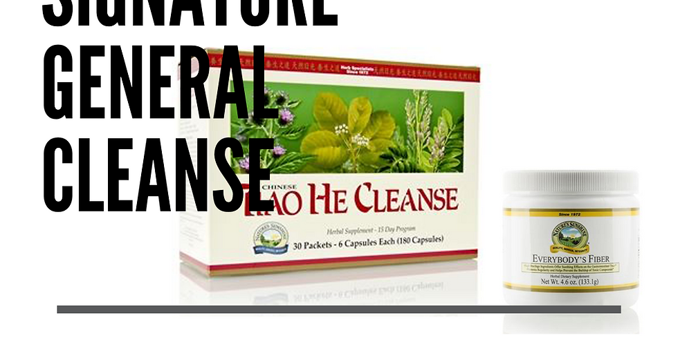 Signature General | Tiao He Cleanse