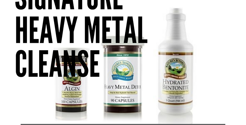 Signature Heavy Metal Cleanse
