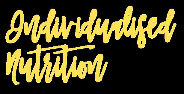 individualised nutrition
