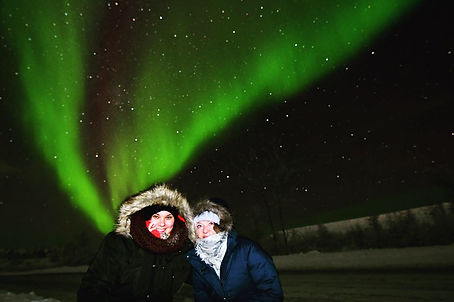 Chasing Northern lights in Canada