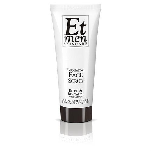 Mens Skin Care Face Scrub