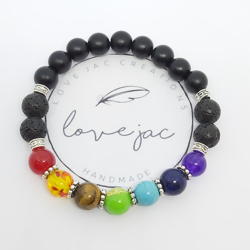 Chakra Centering Diffuser Bracelet