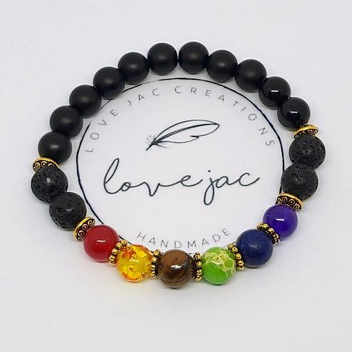 Chakra Balance Diffuser Bracelet