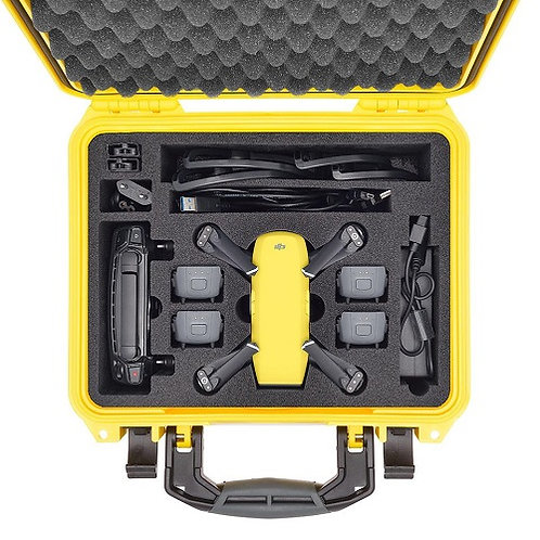 HPRC2300 YELLOW For DJI SPARK more fly combo