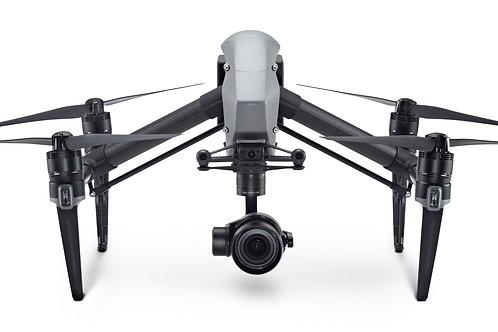 DJI Inspire 2 Premium Combo includes Zenmuse X5S Camera & Apple ProRes & CinemaD