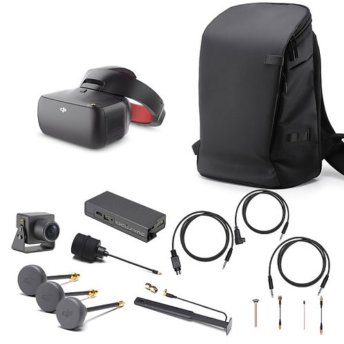 DJI Goggles Racing Combo Goggles + OcuSync Air System + Carry More Backpack