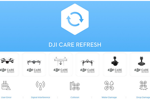 DJI Care Inspire 2 - License Number
