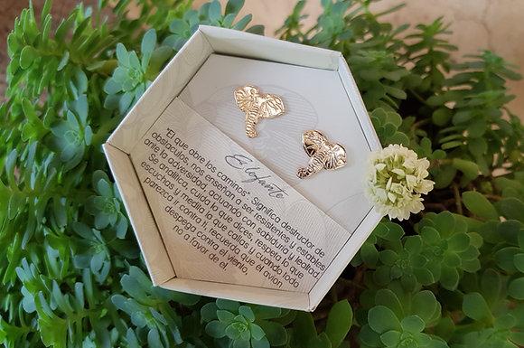 Arete Elefante Gold