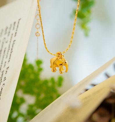 Collar Elefante Gold