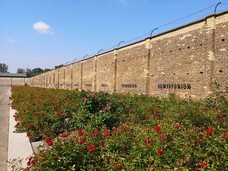Равенсбрюк. Стена наций.