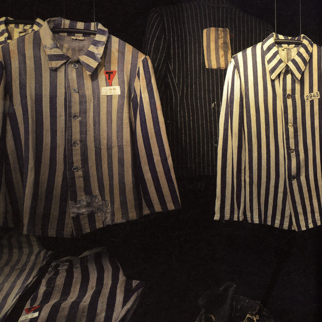 Бухенвальд. Одежда узников