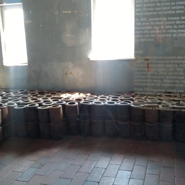 Бухенвальд. Урны для праха