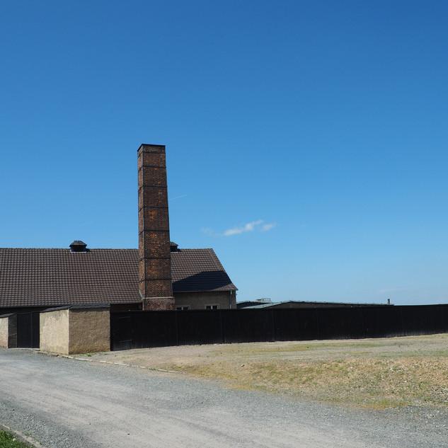 Бухенвальд. Здание крематория