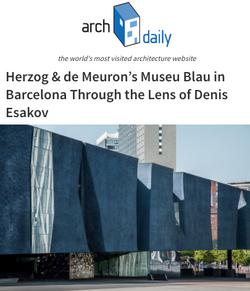 Herzog & de Meuron Museu Blau