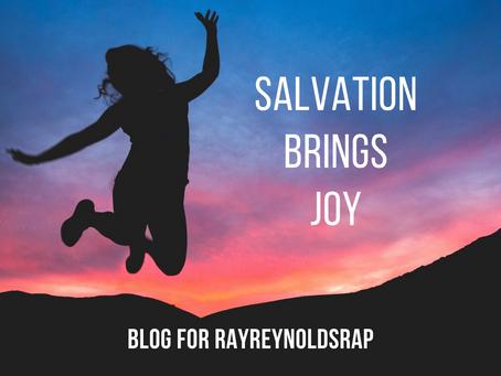 Salvation Brings Joy