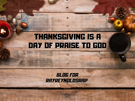 Thanksgiving Is A Day of Praise to God
