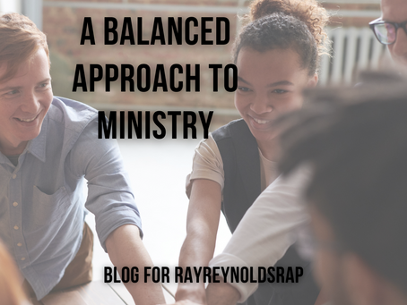 A Balanced Approach to Ministry