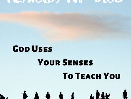 GOD USES THE SENSES TO TEACH