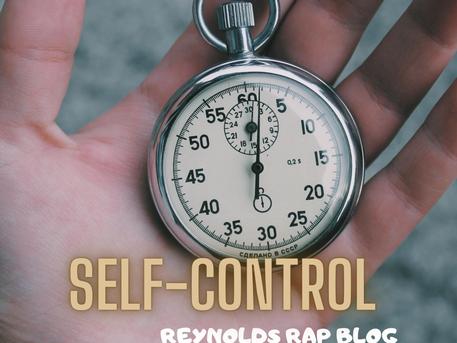 Choose SELF-CONTROL (Fruit of the Spirit series)