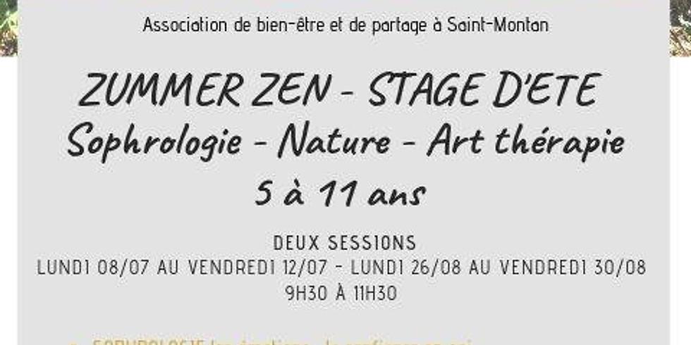 Summer zen  Stage d'été