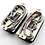 Thumbnail: TE-20 Custom '59 P.A.F. Humbucker Set Zebra 4wire