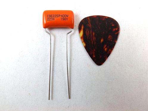 CDE 225P Orange Drop .022uf Guitar Tone Capacitor