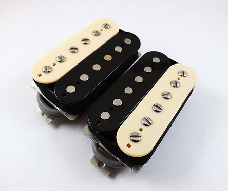 TE-20 Custom '59 P.A.F. Humbucker Set Zebra 4wire